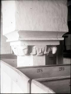 ARH NL Kageler 918, Romanisches Kapitell, Neustadt a. Rbge., ohne Datum