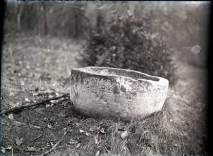 ARH NL Kageler 933, Romanische Taufschale, Gehrden, ohne Datum