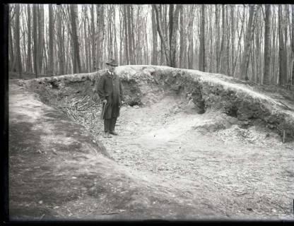 ARH NL Kageler 987, Hügelgrab aus der Bronzezeit, Benther Berg, ohne Datum
