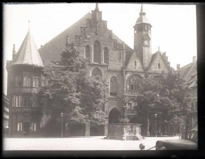 ARH NL Kageler 1036, Marktplatz und Rathaus, Hildesheim, ohne Datum