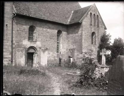 ARH NL Kageler 1059, Kirche und Friedhof, Idensen, ohne Datum