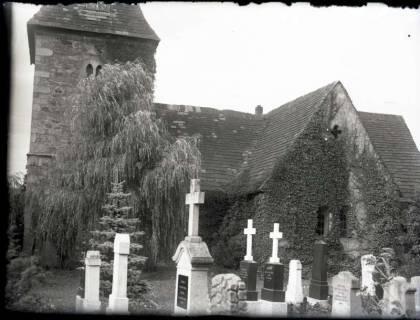 ARH NL Kageler 1061, Kirche und Friedhof, ohne Datum