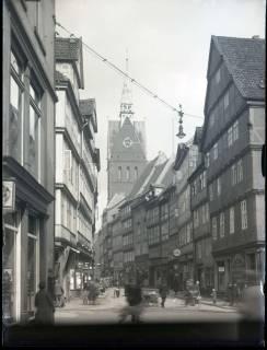 ARH NL Kageler 1082, Kramerstraße und Marktkirche, Hannover, ohne Datum