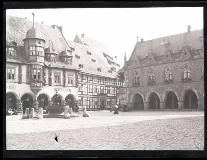 ARH NL Kageler 1089, Marktplatz, Goslar, 1913