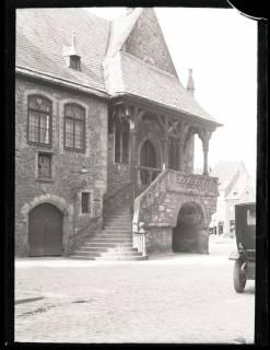 ARH NL Kageler 1090, Aufgang Rathaus, Goslar, 1913