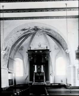 ARH NL Kageler 1239, Innenraum Kirche, Hohenbostel, ohne Datum
