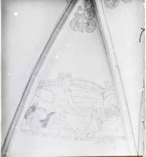 ARH NL Kageler 1240, Deckenmalerei Kirche, Hohenbostel, ohne Datum