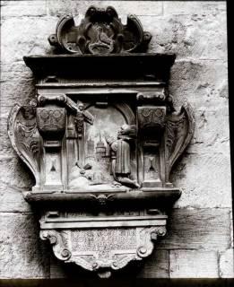 ARH NL Kageler 1253, Grabstein (Amtmann Arens + 1596), Barsinghausen, 1940