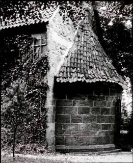 ARH NL Kageler 1267, Apsis an der Kirche, Hiddestorf, 1940