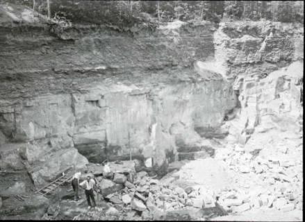 ARH NL Kageler 1280, Sandsteinbruch, Deister, 1952