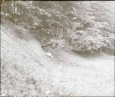 ARH NL Kageler 1293, Talbildung durch Erosion, abrutschender Talhang, Gehrdener Berg, 1940