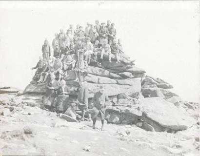 ARH NL Kageler 1314, Gruppenaufnahme auf der Teufelskanzel, Brocken, 1940