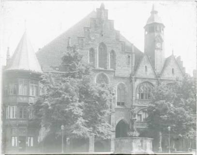 ARH NL Kageler 1316, Marktplatz und Rathaus, Hildesheim, ohne Datum
