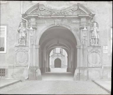 ARH NL Kageler 1356, Portal Schloss Corvey, Höxter, ohne Datum