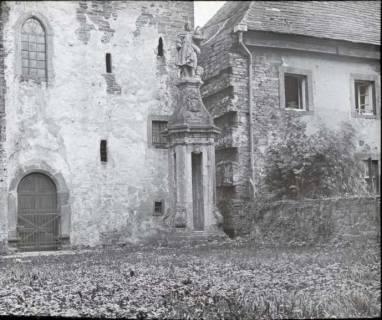 ARH NL Kageler 1364, Ältester Turmteil am Schloss Corvey, Höxter, ohne Datum