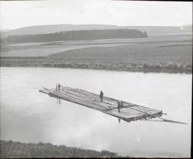 ARH NL Kageler 1366, Floß auf der Weser, ohne Datum