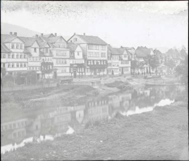 ARH NL Kageler 1377, Blick von der Werrabrücke, Hann. Münden, ohne Datum