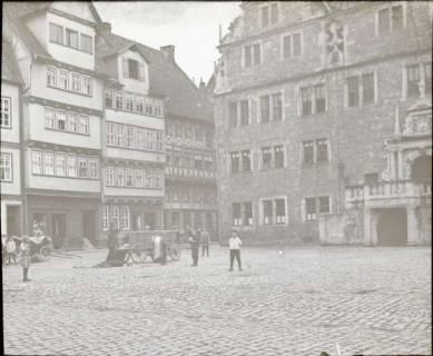 ARH NL Kageler 1380, Marktplatz mit Renaissance-Rathaus, Hann. Münden, ohne Datum