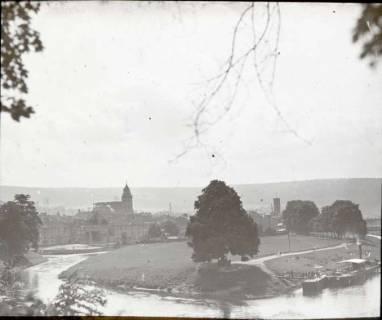 ARH NL Kageler 1402, Zusammenfluss von Werra und Fulda, Hann. Münden, ohne Datum