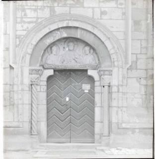 ARH NL Kageler 1408, Kirchenportal bei St. Godehard, Hildesheim, ohne Datum