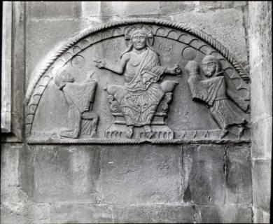 ARH NL Kageler 1416, Romanisches Bogenfeld an der Kirche, Wennigsen, ohne Datum