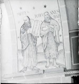 ARH NL Kageler 1458, Wandgemälde in Kirche, Hohenbostel, 1940