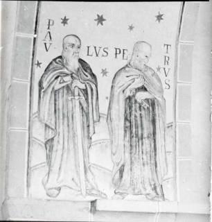 ARH NL Kageler 1459, Wandgemälde in Kirche, Hohenbostel, 1940