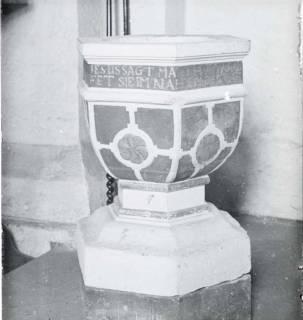 ARH NL Kageler 1543, Taufstein, Hiddestorf, ohne Datum