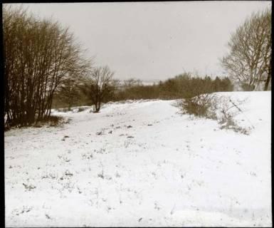 ARH NL Kageler 1558, Landschaft im Schnee, Osterwald, ohne Datum