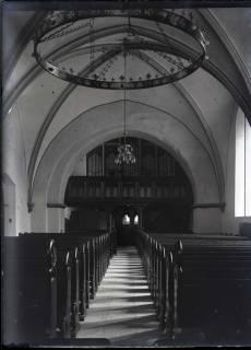 ARH NL Kageler 453, Blick auf die Orgelseite in der Margarethenkirche, Gehrden, zwischen 1914/1918