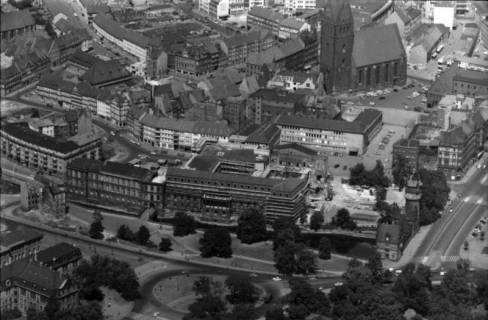 ARH NL Koberg 26, Altstadt, Leineschloss und Marktkirche, Hannover, 1959