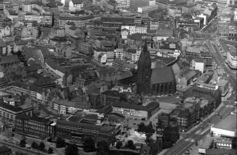 ARH NL Koberg 27, Altstadt, Leineschloss und Marktkirche, Hannover, 1959