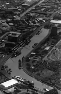 ARH NL Koberg 29, Stichkanal Hannover-Linden und Hafen, Linden, 1959