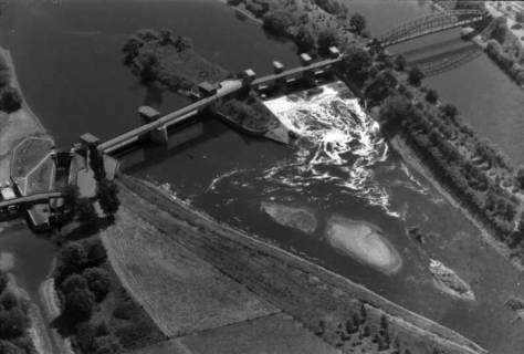 ARH NL Koberg 30, Leineabstiegskanal, Leine und Ernst-August-Kanal, Herrenhausen, 1959