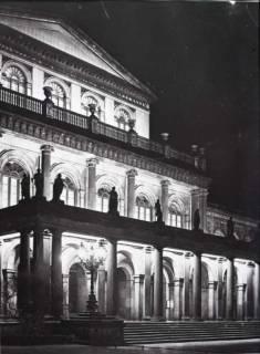 ARH NL Koberg 33, Opernhaus bei Nacht, Hannover, vor 1939