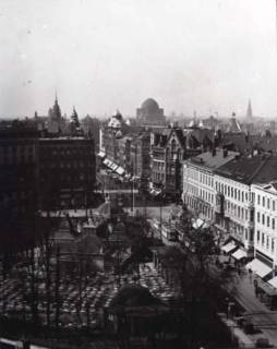 ARH NL Koberg 35, Georgstraße in Richtung Steintor / Kröpcke, Hannover, vor 1939