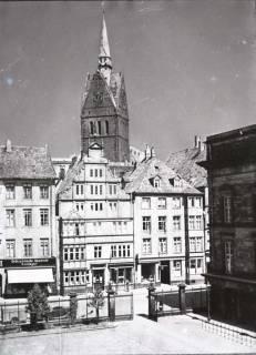ARH NL Koberg 36, Blick vom Leineschloss auf die Leinstraße, Hannover, vor 1943