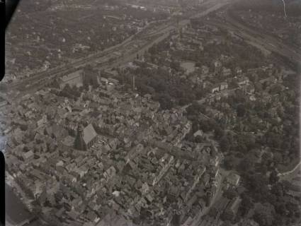ARH NL Koberg 51, Stadtzentrum mit Kirche, Hann. Münden, 1960