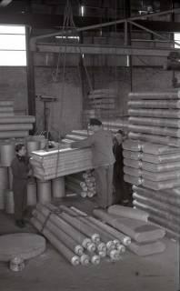 ARH NL Koberg 646, Aluwerke (spätere Messe) - Verarbeitung der Aluminiumreste aus der Flugzeugteileproduktion, Laatzen, 1946