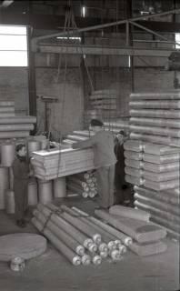 ARH NL Koberg 647, Aluwerke (spätere Messe) - Verarbeitung der Aluminiumreste aus der Flugzeugteileproduktion, Laatzen, 1946
