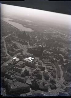 ARH NL Koberg 81, Maschsee, Niedersachsenstadion, Rathaus und Marktkirche, Hannover, 1957