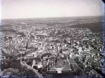 ARH NL Koberg 84, Rathaus und Marktkirche, Hannover, 1957