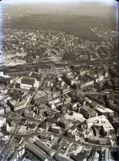 ARH NL Koberg 86, Bahnhof, Steintor und Kröpcke, Hannover, 1957