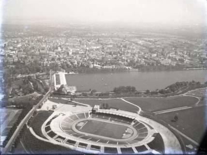 ARH NL Koberg 87, Niedersachsenstadion und Maschsee, Hannover, 1957
