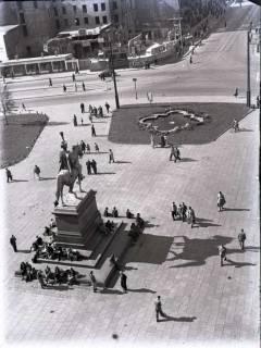 ARH NL Koberg 97, Ernst-August-Platz, Hannover, wohl 1949