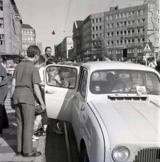 "ARH NL Koberg 1005, ""Rote-Punkt-Aktion"" am Steintor, Hannover , 1969"