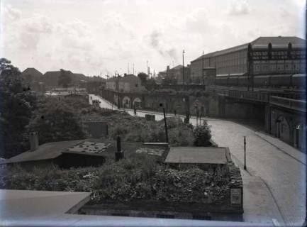 ARH NL Koberg 101, Blick auf die ehemalige Zimmer Straße, Hannover, wohl 1947
