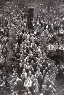 ARH NL Koberg 1045, Kundgebung der SPD auf dem Opernplatz, Hannover, 1946