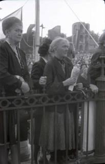 ARH NL Koberg 1053, Kundgebung der SPD auf dem Waterlooplatz, Hannover, 1946