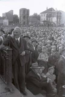 ARH NL Koberg 1055, Kundgebung der SPD auf dem Waterlooplatz, Hannover, 1946
